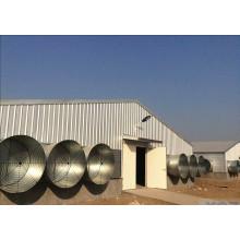 Hot DIP Galvanizing Frame Steel Chicken House/Poultry Farm (KXD-SCH1502)