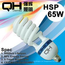 65W T5 High-Power Halbspirale AC220V-240V/110-130V