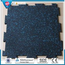 Hot Sale EPDM Interlocking Playground Gym Rubber Flooring Mat