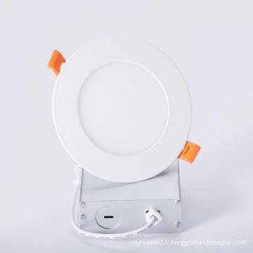 "Panneau lumineux LED mince 4"" 9W"