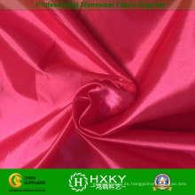 Tejido de tafetán de nylon 100% satinado para chaqueta de invierno a prueba