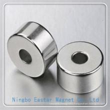 N40 D30*D10*12 Nickel Plating NdFeB Ring Magnet
