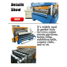 Farbe Stahl Dachplatte Maschine mit hoher Qualität
