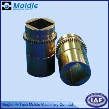 Kupfer überzogener Zinkdruckgussteil mit Zahnrad