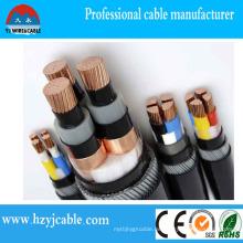 Elektrische Geräte Black PVC Mantel Armored Power Kabel