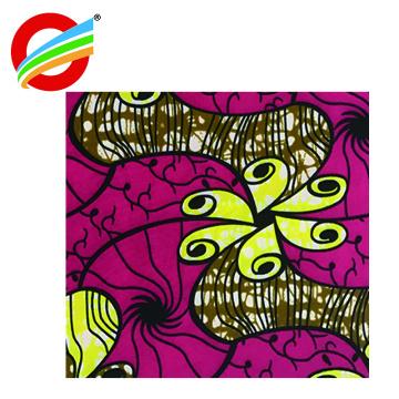 wholesale 100% polyester african ankara super wax print fabric