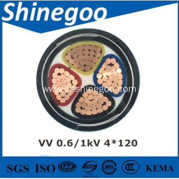 0.6/1kV PVC Insulated steel tape armoured Power Cables