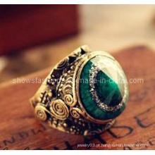 Jóias anel / dedo anelar / moda anéis / jóias forma de forma de olhos (xrg12058)