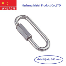 Precision Casting Stainless Steel Long Quick Links for Chain
