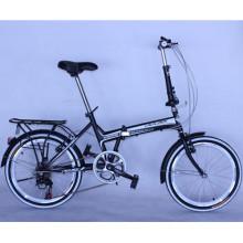 Novo design de bicicleta dobrável em liga de 20 polegadas e 8 velocidades