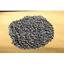 La poudre de graphite du sol