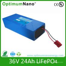 36V 25ah Lithium Battery Pack for Electric Bike