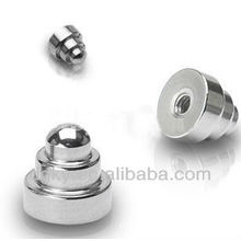Cuerpo piezas de joyería de acero quirúrgico Dumbbell Replacement Beads