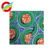 tela de materia textil casera estupenda africana estupenda de la impresión de la cera del poliéster