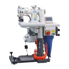 QS-9588 Automatic Feed off the arm Chainstitch Industrial Sewing Machine With Belt-type Pneumatic Puller