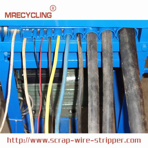 recycling wires and cables