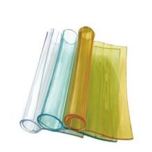 Feuille molle transparente de rideau en PVC de PVC / petit pain