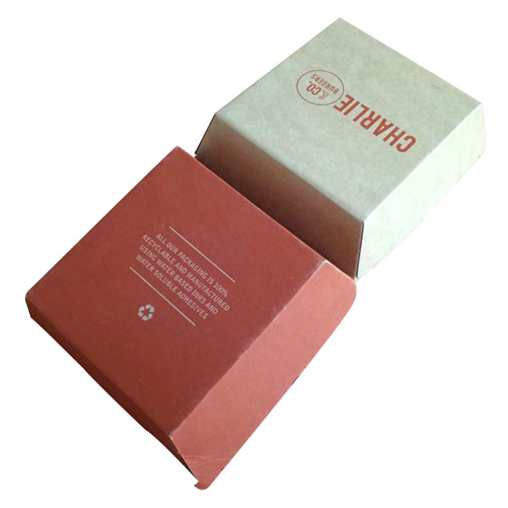 Corrugated burger box 205