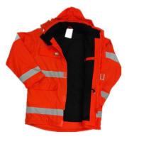 Impermeable con capucha de poliuretano / Reflejo / Ropa de seguridad para adultos