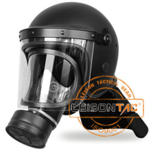 Safety Helmet for Anti Riot can be with gas mask