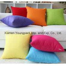 Cheap 45X45cm Promotional Custom Design Sofa Square Throw Pillow Case