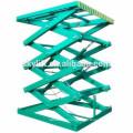 stationary hydraulic dumbwaiter scissor lift tables