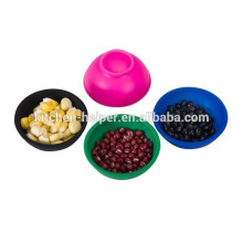 Hot selling silicone bowl set mini silicone bowls
