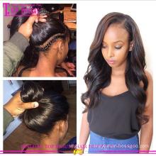 2015 Новый arrvial девственницы ранга 7A бразильские волосы хвост парик