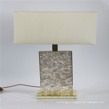 Canosa ECO-friendly white mother of pearl table lamps