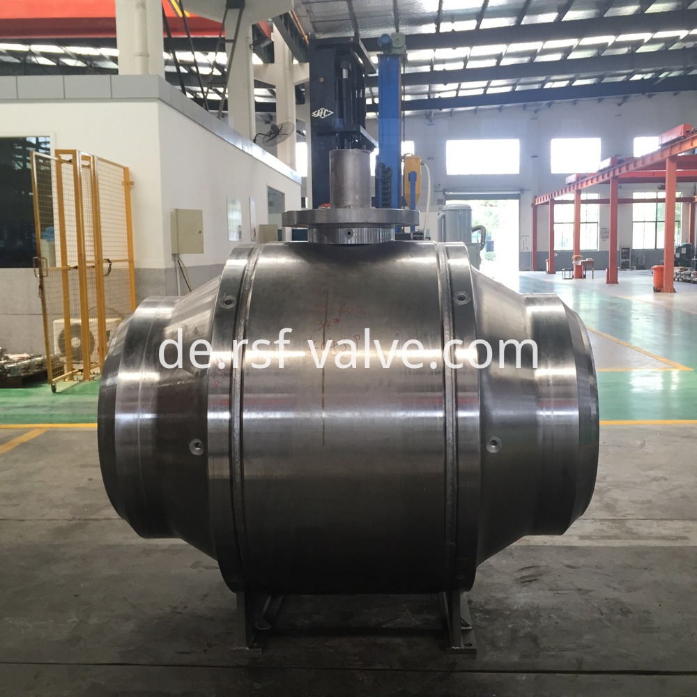 Welded Body Trunnion Mounted Ball Valve 1