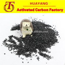 Moderate hardness black corundum for bamboo and wood products polishing