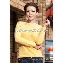 Fashion design women's 100% cashmere sweater