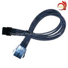 Câble d'adaptateur d'ordinateur ATX Power Supply 8pin avec gaine