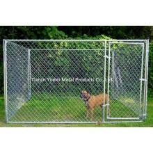 Medium Outdoor 6 X 6 футов Стальная цепь Ссылка Портативный двор Питомник собак Дом Кейдж