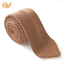 Mens différentes couleurs base conçu cravate cravate en tricot