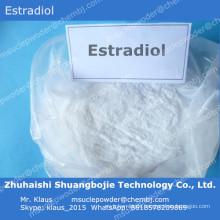 Weibliches Hormon Östrogen Estradiol / E2 für Frau, um Östrogen zu versorgen