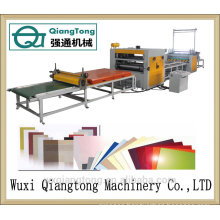 PVC / Acrylic hot-melt glue laminating machine/ PUR laminating machine for furniture board
