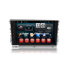 Kaier factory + Quad core - Full touch android 4.4.2 car dvd para Hyundai Mistra + OEM + 1024 * 600 + mirrior link + TPMS