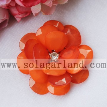 Handmade Christmas Decoration Artificial French Bead Flowers 54MM