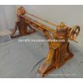 Industrial Crank Table Metal Rivets