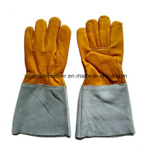Gants de soudure en cuir TIG / Gants de soudage à l'argon