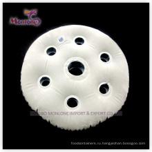 Круглая надувная надувная подушка для шеи из ПВХ 40X30см