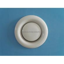 Válvula de disco de ar de exaustão de ventilação de sistemas HVAC