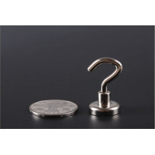 Permanent Neodymium Pot Magnets with Loop or Hook