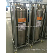 China 210L Liquid Oxygen/Nitrogen Cryogenic Cylinder