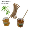 disposable drinking bamboo straw factory sale price with custom logo