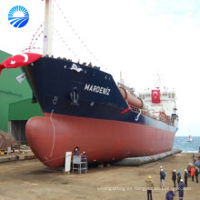 globo de goma inflable / airbag de goma marina / mayorista del airbag del lanzamiento de la nave