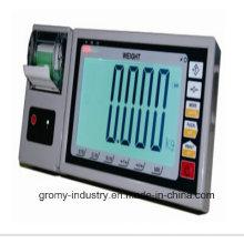 Indicador de peso digital com tela LED grande com função de impressão