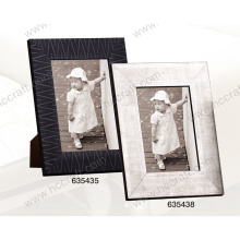 PS Wood like Photo Frame for Home Decoration