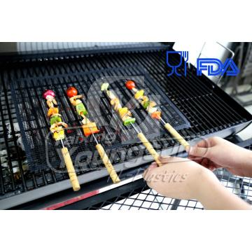 4 mm * 4 mm Non-stick barbekyu Mesh